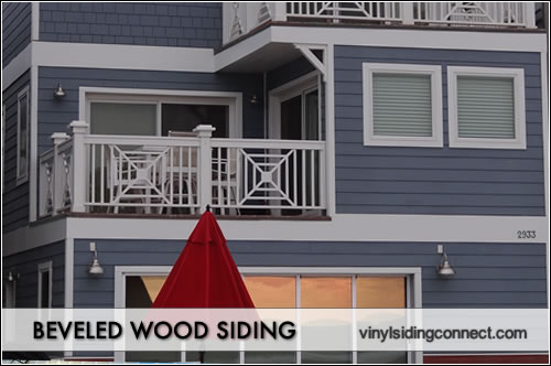 beveled wood siding