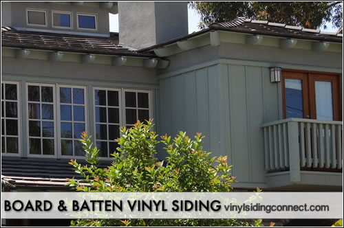 Types of siding vinyl siding connect for Pictures of houses with board and batten siding