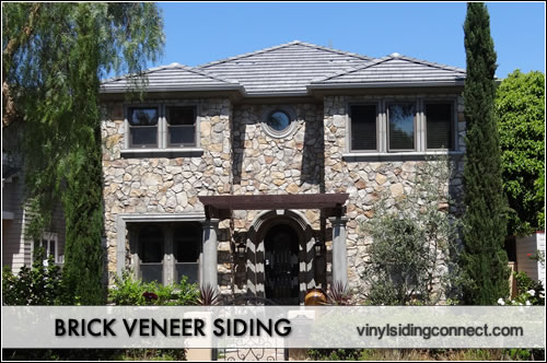 Brick veneer siding vinyl siding connect for What is brick veneer siding
