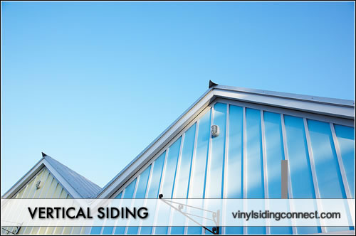 Vertical wood siding vinyl siding connect for Vertical siding options