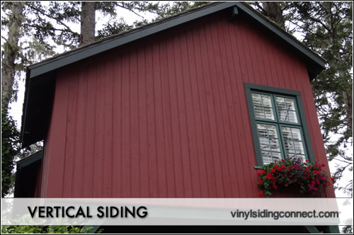 Vertical siding pictures vinyl siding connect for Vertical siding options